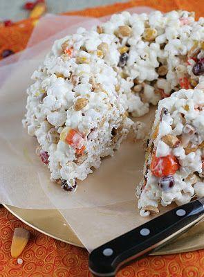 Paletas crujientes de maíz con caramelo - Placer por lo dulce