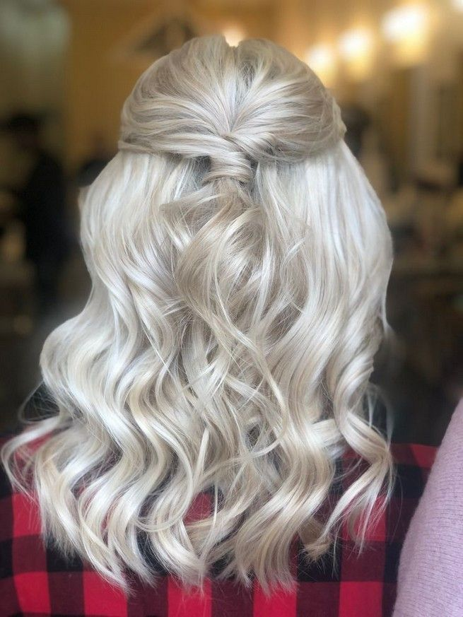 Prom hair down medium simple 30 www.GasStationMai