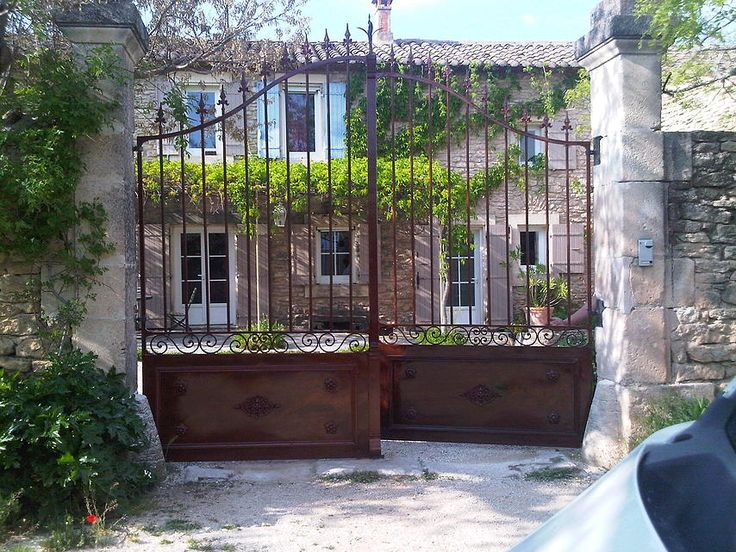 Koru, métallerie - serrurerie, ferronnerie, Gordes,Vaucluse 84