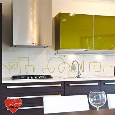 LOVE VINILOS - ilovepitita - Menaje de cocina vinilo