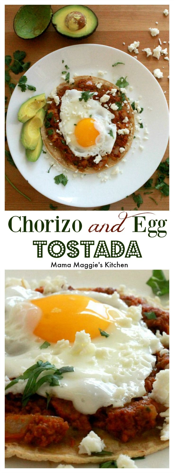 Chorizo And Egg Tostada Is Delicious Flavorful Breakfast Option This Yummy Mexican Food Classic