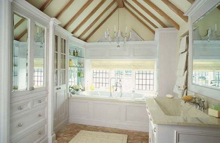 FRENCH COUNTRY BATH   15 Charming French Country Bathroom Ideas