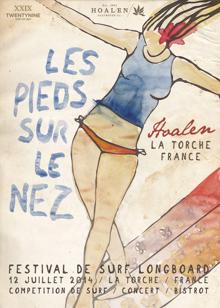HOALEN LES PIEDS SUR LE NEZ Festival de Surf La Torche France http://www.hoalen.com/lifeonshores/post.php?id=4401