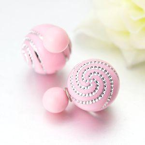 Brinco perola duplo dior celebridades rosa R$15,00 para comprar clique na imagem