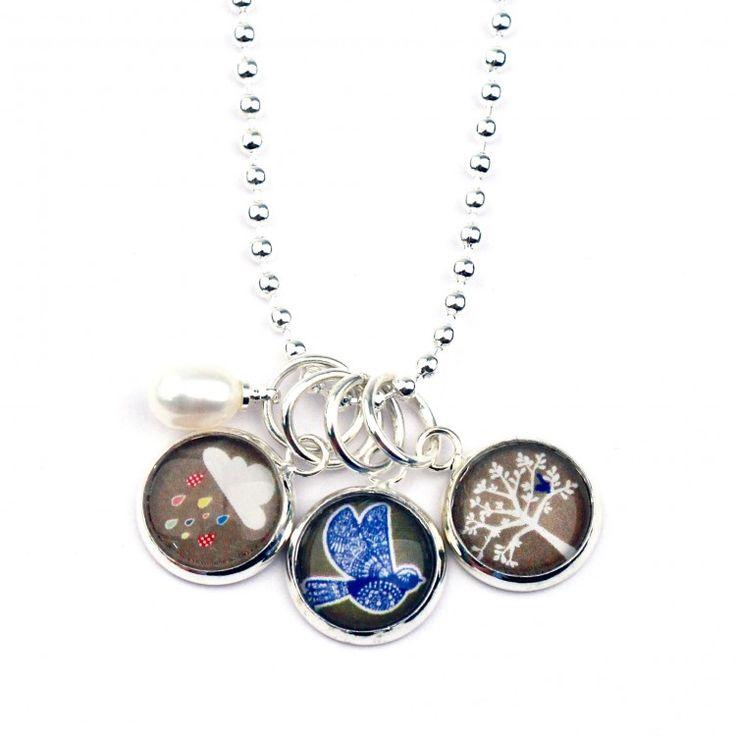 Nest Of Pambula Cluster Necklace-Wonder