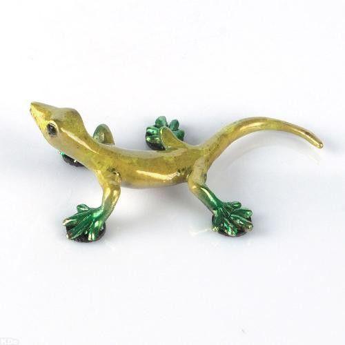 Small Lizard #2 - Open Edition Bronze Sculpture by Barry Stein