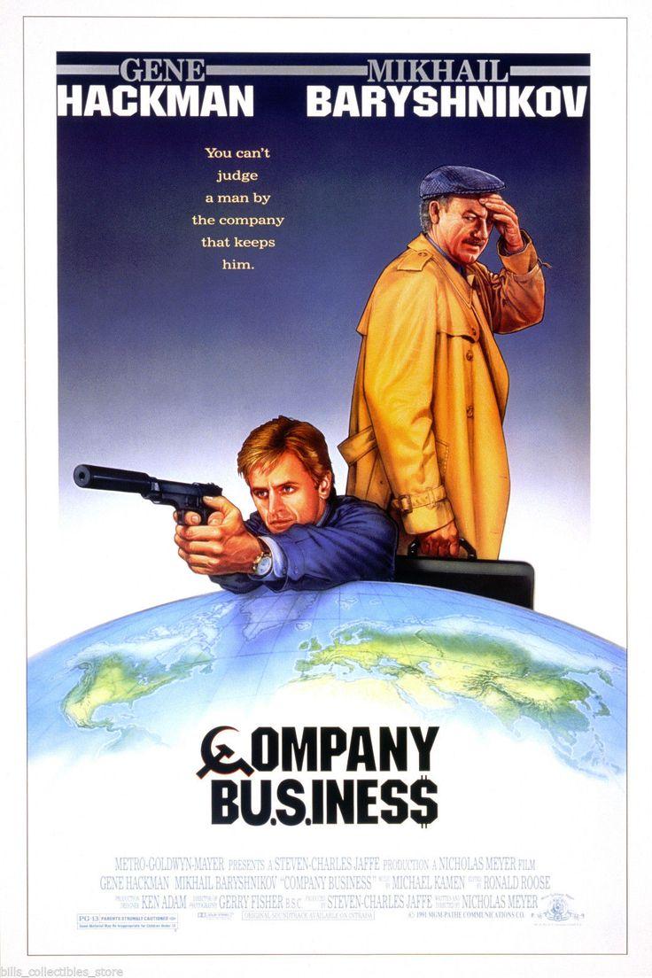 'Company Business', 1991. Director: Nicholas Meyer. Cast: Mikhail Baryshnikov, Gene Hackman, Geraldine Danon