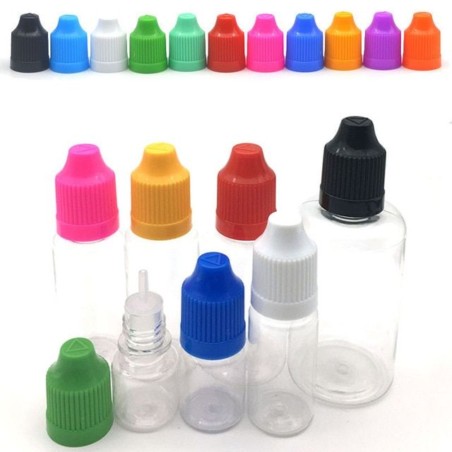 5pcs Clear Dropper Bottle 3ml 5ml 10ml 15ml 20ml 30ml 50ml E Liquid Bottle Eye Liquid Dropper Refillable Bottle Revie Bottle Dropper Bottles Refillable Bottles