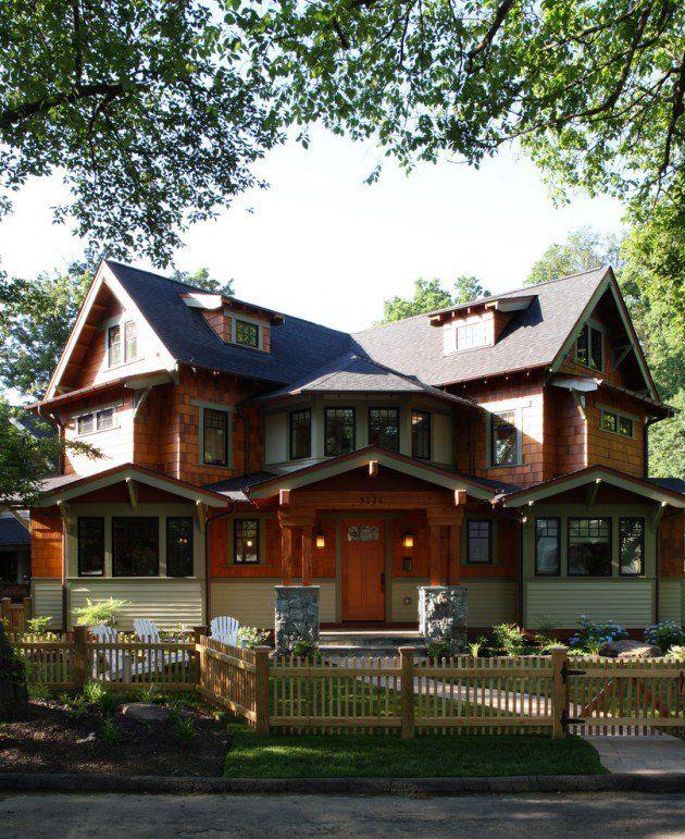 15 inviting american craftsman home exterior design ideas - Exterior Home Design Ideas