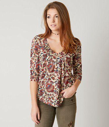 Lucky Brand Pintuck Top - Women's Shirts/Blouses | Buckle