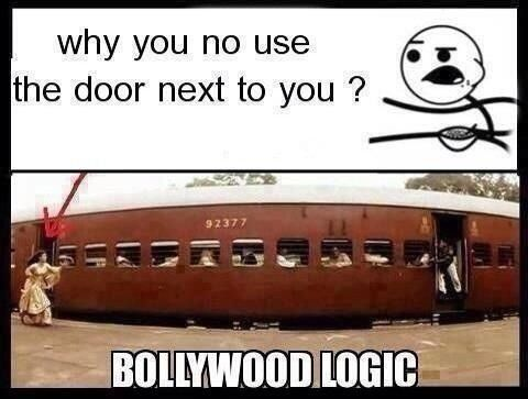 Desi Problems, bollywood logic!