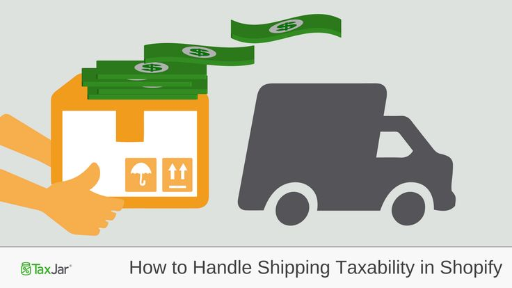 Do you charge your Shopify customers for shipping? If so, you may not know that you need to consider sales tax.    Some states consider shipping charges taxable. Others say that shipping charges are not taxable, as