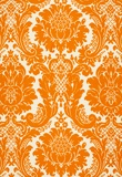 orange damask #amouraffairs www.amouraffairs.in