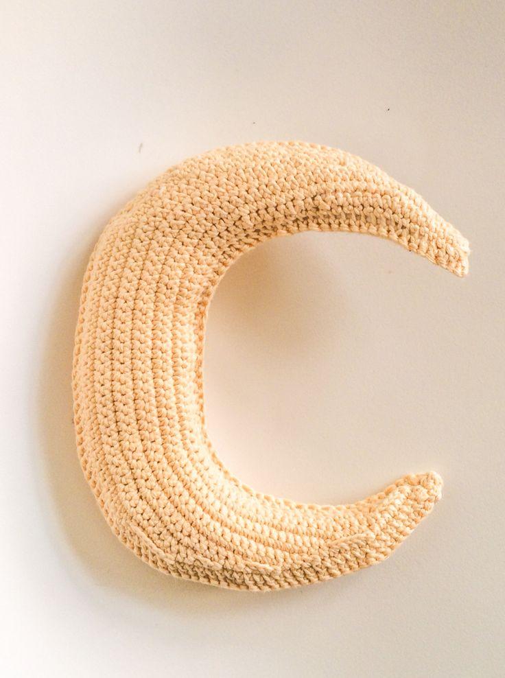 Crochet moon #obber