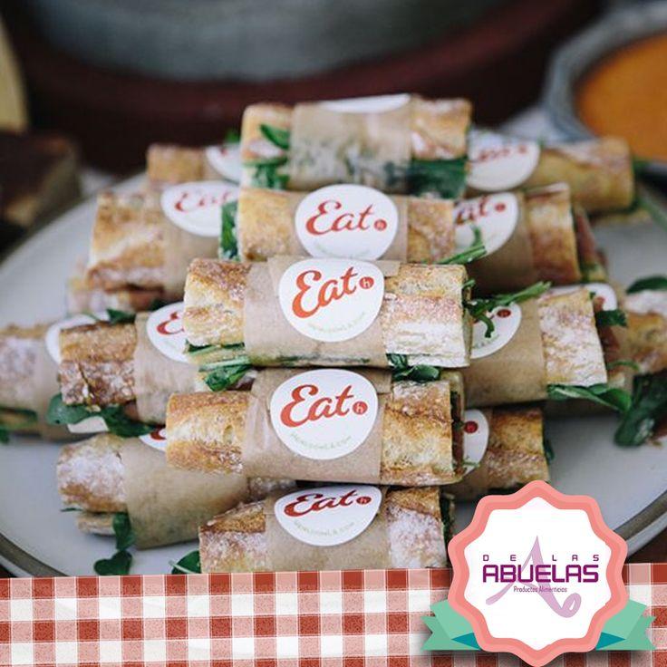 Haz que tu marca destaque en sus celebraciones y comidas ¿Que tal este #refrigerio? www.delasabuelas.com
