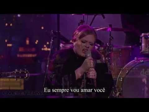 Adele - Love Song (Live on Letterman) Legendado - http://afarcryfromsunset.com/adele-love-song-live-on-letterman-legendado/
