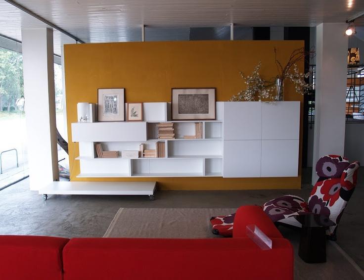 Parete attrezzata Lema T030 #wall #space #lema #design #soluzioni