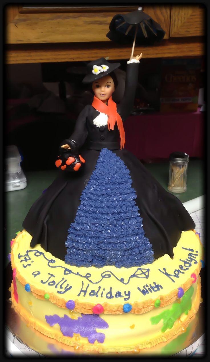 Mary Poppins Cake