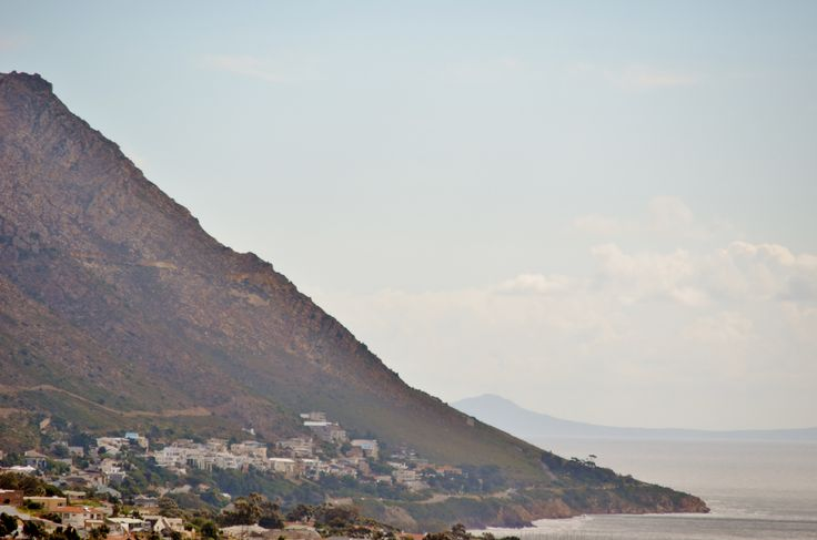 Suikerbossie Avenue in Gordons Bay as well as the start of Clarence Drive - as seen from the Firgrove side along the Hottentots-Holland mountain range. #Helderberg region of #CapeTown - #SouthAfrica #Suikerboosie #GordonsBay