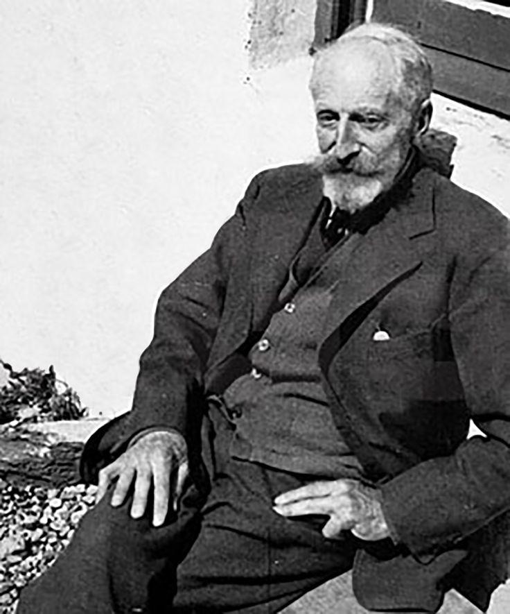 Tom Longstaff, known as Grandfather Redbeard.