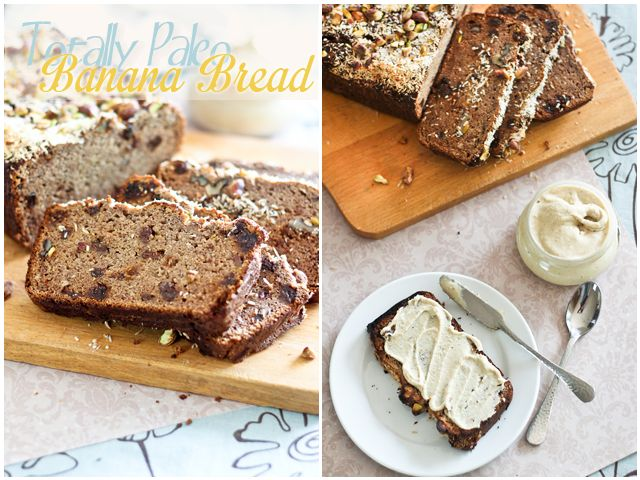 *Paleo Banana Bread (w/coconut, almond and arrowroot flour, sweetened naturally with bananas, apple sauce and raisins) | by Sonia! The Healthy Foodie