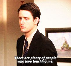"When people loved touching him. | 19 Times Gabe Lewis Was The Most Underrated Character On ""The Office"""