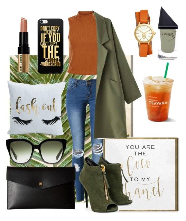 Autumn Look #7 Afternoon Tea by gpatricia on Polyvore featuring polyvore fashion style WithChic Lodis Tory Burch Gucci Bobbi Brown Cosmetics GUiSHEM Oliver Gal Artist Co. clothing