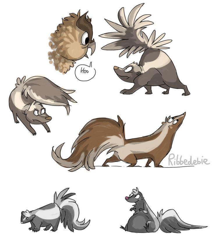 cartoon skunks | ... Skunk Spraying Person , Cartoon Skunk Farting , Cartoon Smelly Skunk