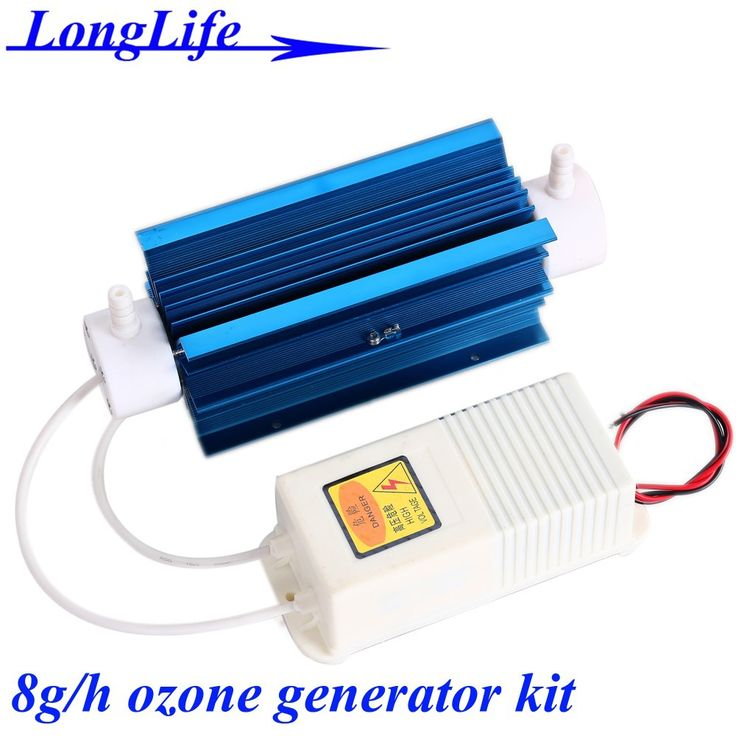 LF-2208QSMT, AC220V/AC110V 8g/h 8gram 8g-10.8g/h ozonizer Quartz tube type ozone generator Kit ozone air purifier and water