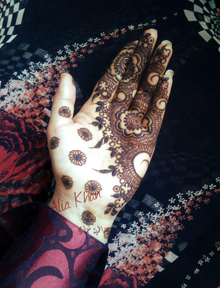 Unique And Easy Mehndi Designs : Best images about henna on pinterest