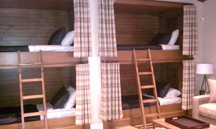 Custom Bunks Lauren Youngs while working with Jauregui Architects. Photo by Lauren Youngs