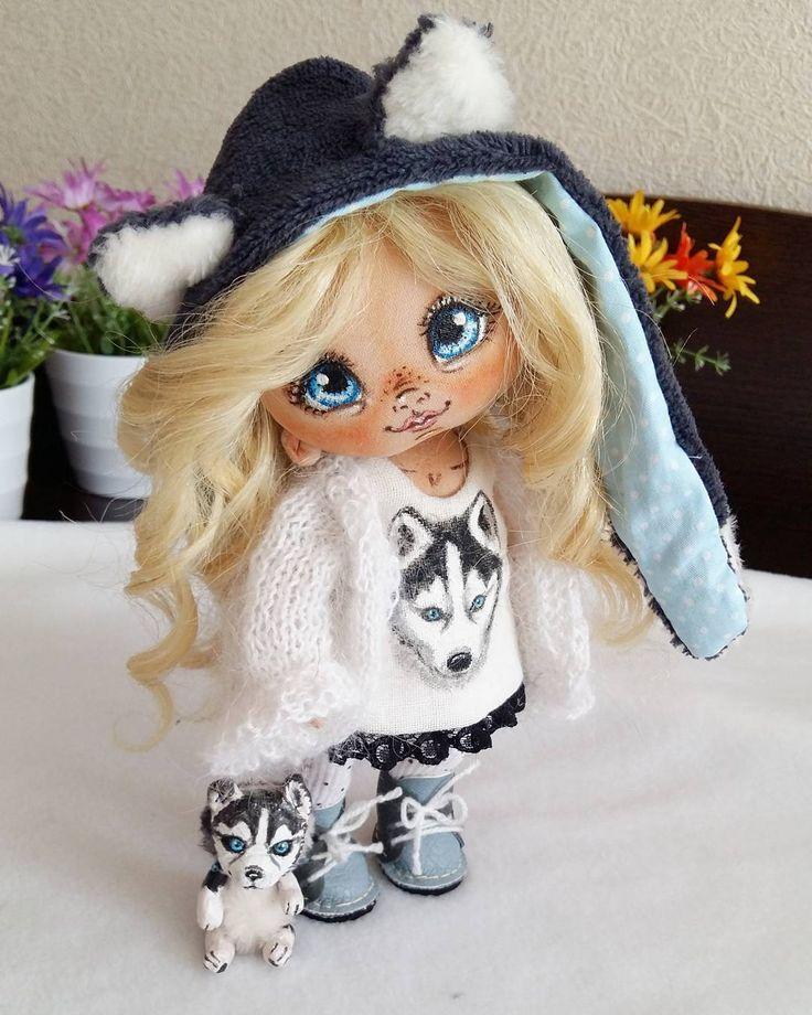 Моя малышка Незнакомка. #СладулькиотИриски #авторскаякукла #кукларучнойработы