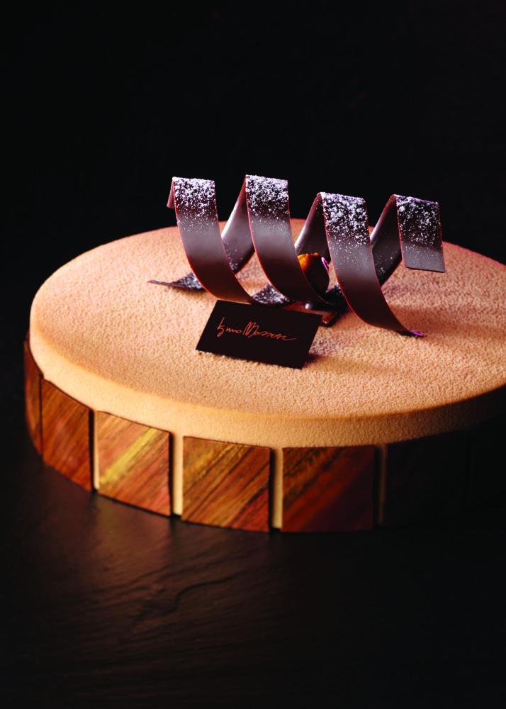 Semifreddo alla vaniglia pralinée