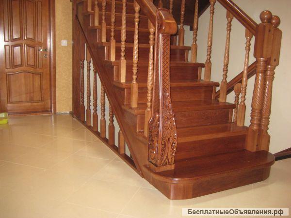 Лестницы , мебель из массива ( береза, ясень, дуб, термодерево) - БесплатныеОбъявления.рф