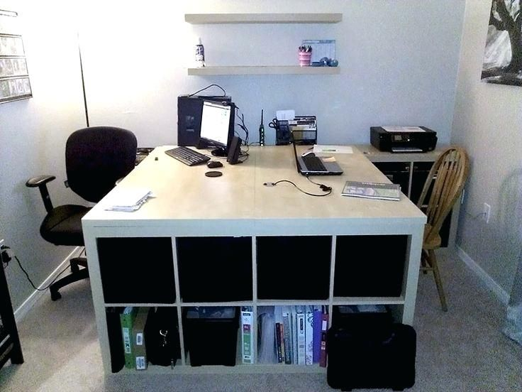 Two Person Desk Ikea Large Computer Desk Best Two Person Desk Ideas On 2 Person Desk Desk Two Person Desk Ikea Hackers Home Office Design Home Office Furniture