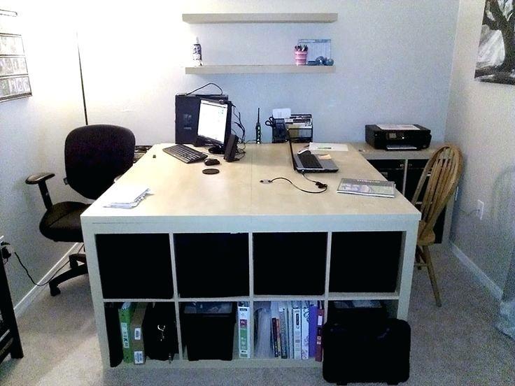 Two Person Desk Ikea Large Computer Desk Best Two Person Desk Ideas On 2 Person Desk Desk Two Person Desk Ikea Hac Ikea Hackers Home Office Furniture Ikea Desk