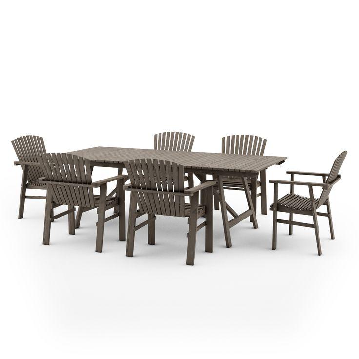 free 3d models ikea sundero outdoor furniture series