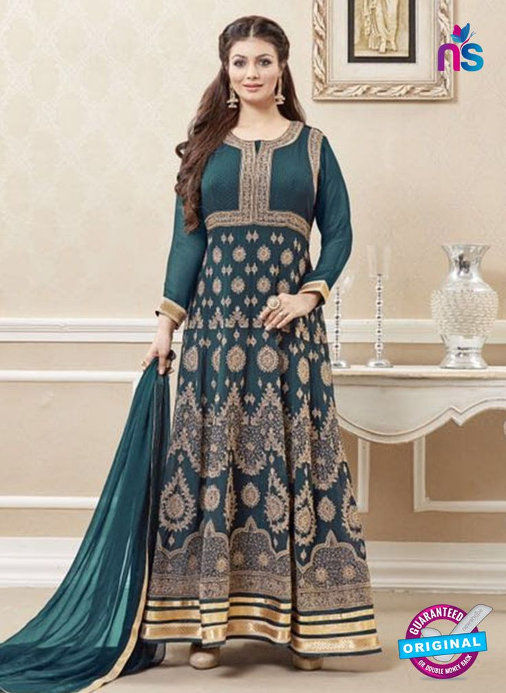 If you are planning to choose a designer anarkali for your next ethnic function, try one in georgette, net or chiffon with stone, zardozi or sequin work. Click Here https://goo.gl/VS3EHt.  #anarkalisuits #designeranarkalisuits #newshop