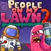 PEOPLE ON MY LAWN 2 FUNBRAIN Description  Sequel of the People on My Lawn with lots of new features, 50 levels, updated control scheme and new cool art.  Instructions  Click anywhere to shoot the rocket, place and drag magnets to change rocket trajectory