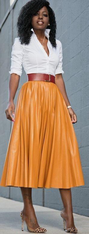 17 Best ideas about Pleated Midi Skirt on Pinterest | Pleated ...