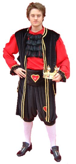 alternative look for king of hearts.