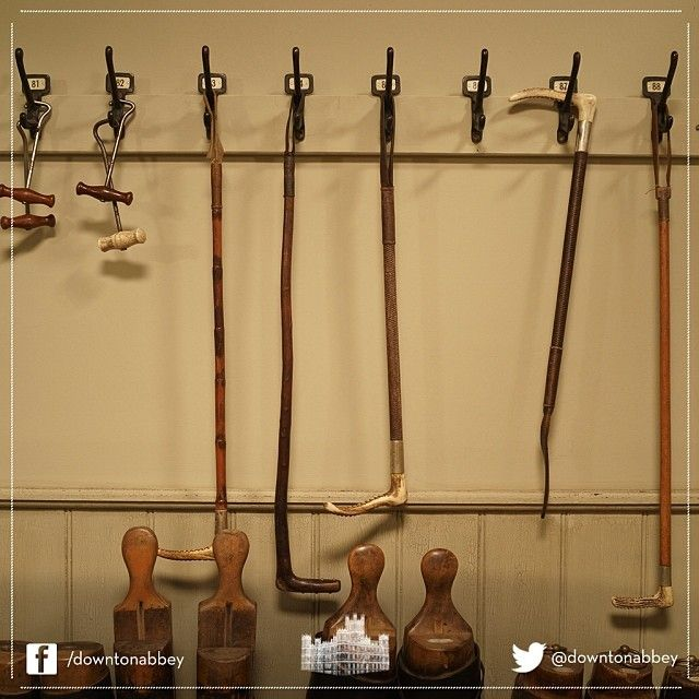 A closer look at some of the many props used during #Series4 of #DowntonAbbey. Glorious!  #Downton #Behindthescenes #Set #Props