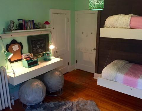 176 best furniture images on pinterest furniture for Floating loft bed designs