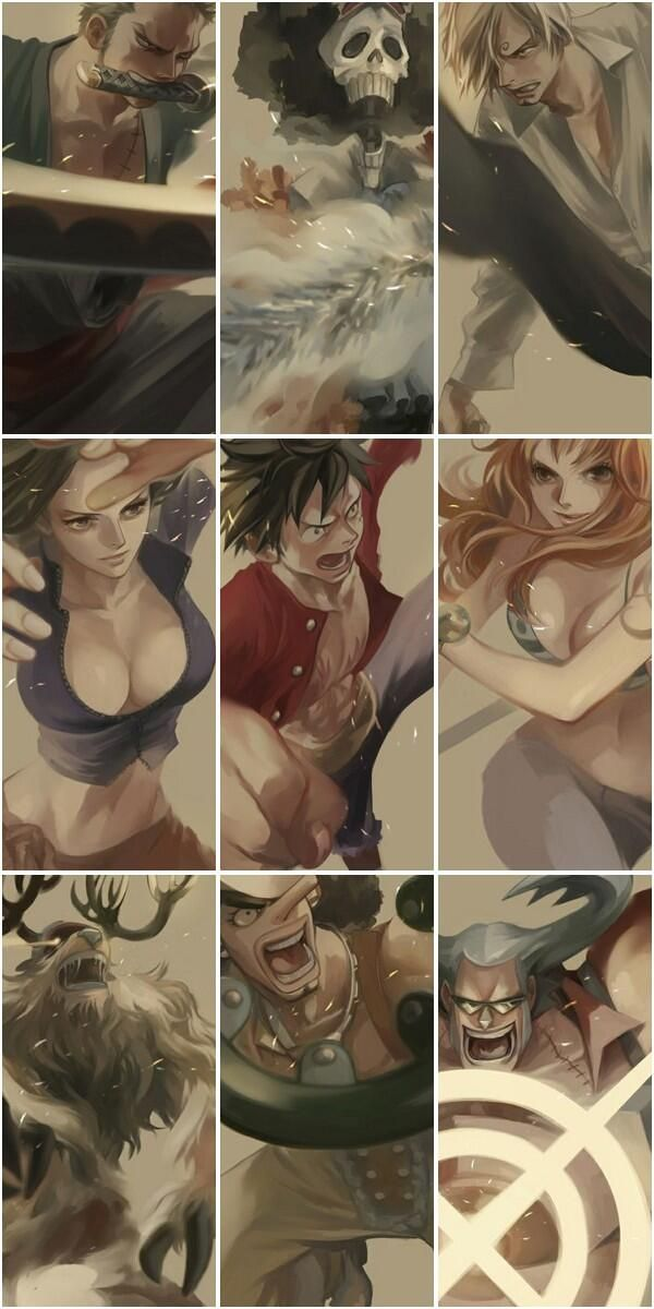 Strawhat Pirates - #OnePiece