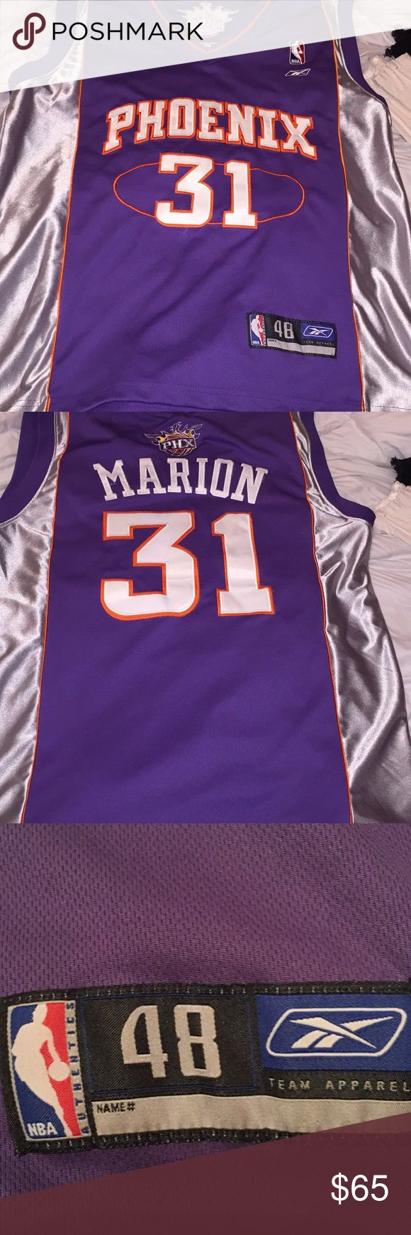 Shawn Dwayne Marion Vintage Jersey Used it doesn't come with the tag but I think it's like 3x or 4 Arizona, Suns, 31, Vintage NBA Shirts Tank Tops
