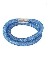 Swarovski Stardust Convertible Crystal Mesh Bracelet/Choker, Blue, Medium found on sale at LAST CALL BY NEIMAN MARCUS about 5 hours ago