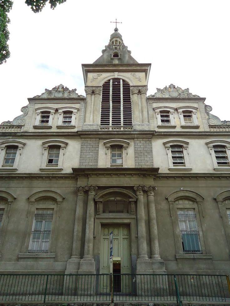 Caracas. Vista Frontal de la Parroquia San Benito - Santuario San José del Ávila