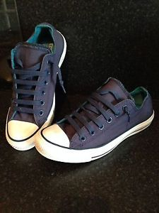 Womens Converse Shoes/Trainers. Size 6. Blue.
