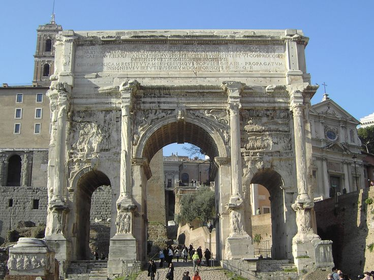 Arch of Septimius Severus - Rome, Italy