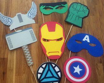 Foto Requisiten: Die Marvel Avengers Super Hero Set 7 von BabyBinkz